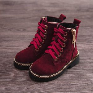 Sepatu Boot kulit Anak Worth It